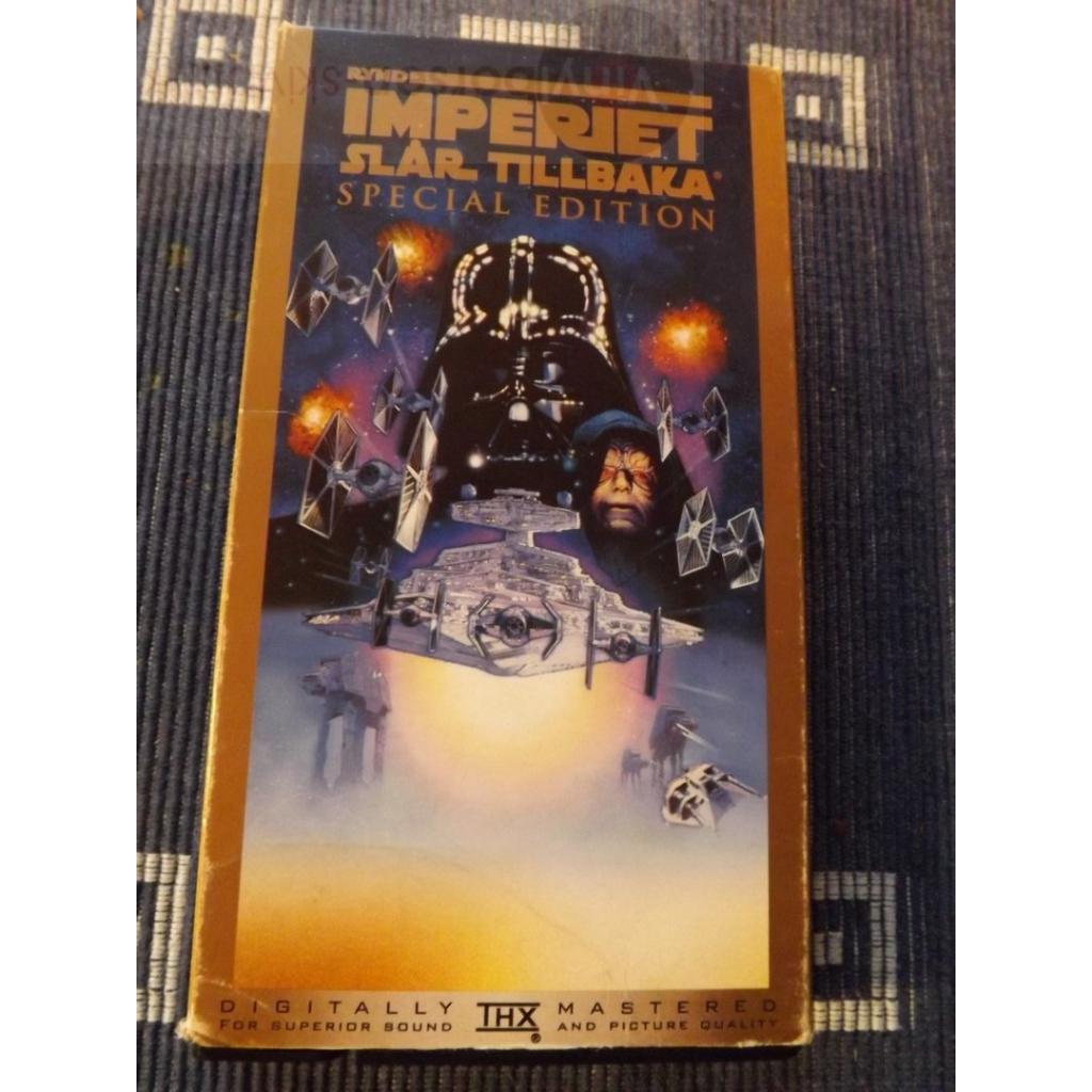 VHS  IMPERIET SLÅR TILLBAKA