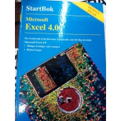 Microsoft Excel 4.0 Start bok