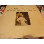 POPE PAUL VI AN HISTORIC JOURNEY TO THE HOLY LAND JANUARY 1964