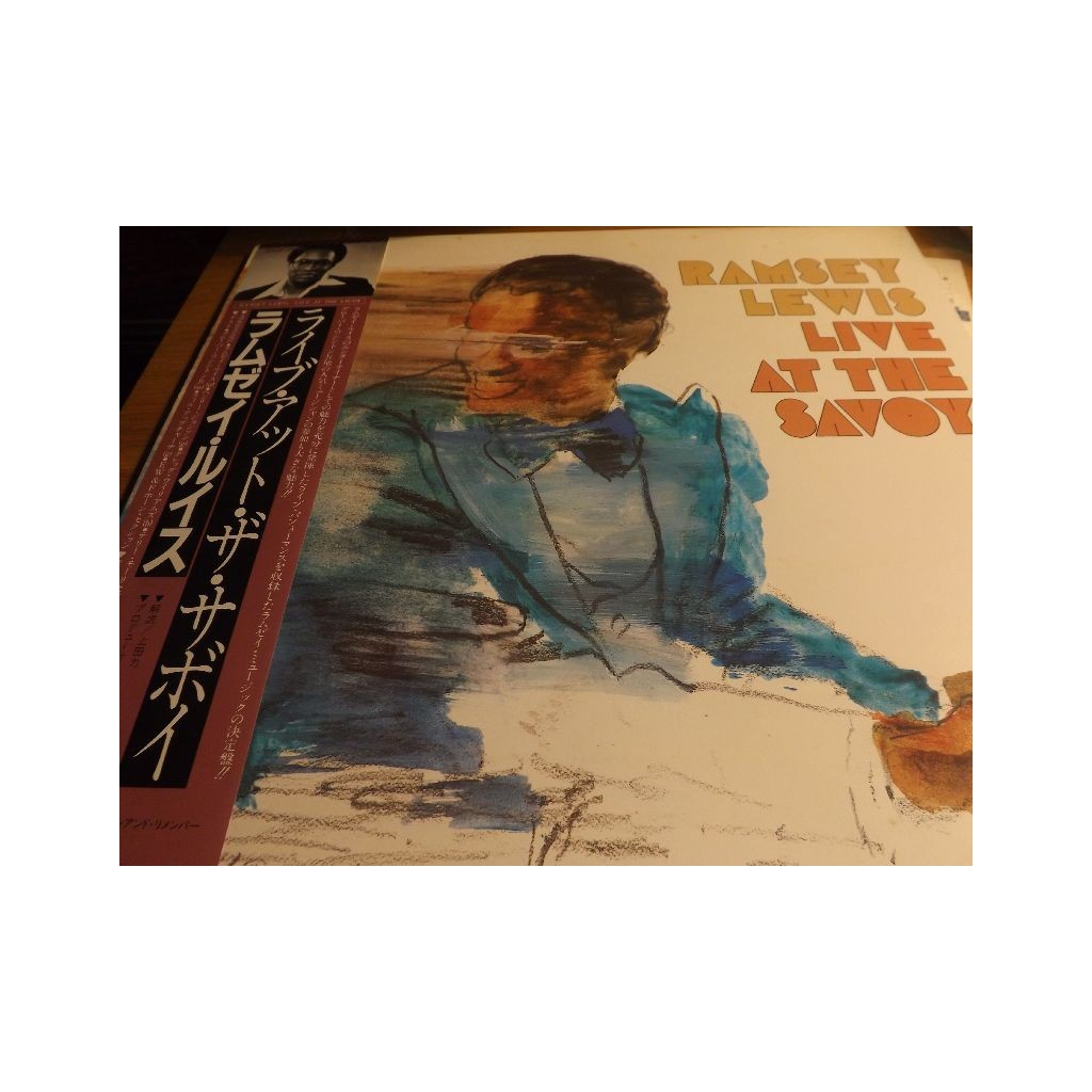 RAMSEY LEWIS Live At The Savoy FC-37687 OBI JAZZ LP d1155