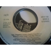 the bee gees, peter Frampton 7´´