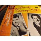 "JERRY LEWIS & DANNY KAYE ""NM WAX"" Japan Press OBI LP c9605"