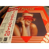 """FRANCK POURCEL """"Odeon"""" Frank Pourcel Best 20 JP OBI LP c9628"""