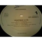 DO JOHNSON HEART BEAT (maxi-single)