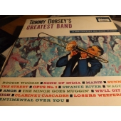 TOMMY DORSEY Greatest Band 20F-5004 JP JAZZ LP c4882