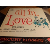 "JACQUES URBONT ""Promo"" All In Love OCM-2204 David Atkinso"