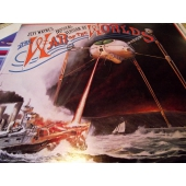 JEFF WAYNE´S WAR OF THE WORLD musical version 2LP med bok