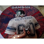 SAMSON VICE VERSA picture disc featuring med Bruce