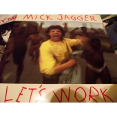 MICK JAGGER LET´S WORK